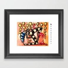 Bell Dancer Framed Art Print