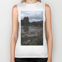 Eilean Donan Castle in Scotland Biker Tank