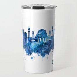 Baghdad Iraq Skyline Blue Travel Mug