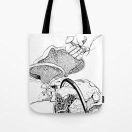 Mushroom Hunters Tote Bag