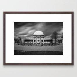 Bandstand at Eaton Park, Norwich, Norfolk Framed Art Print
