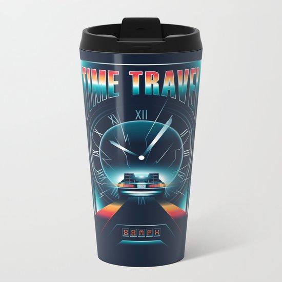 Time Travel Metal Travel Mug