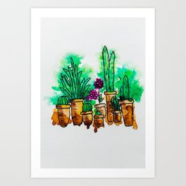 Picture Perfect Plants Art Print