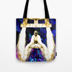 gold water on serenity Tote Bag