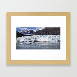 Alaska Glaciers Framed Art Print