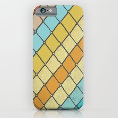 Fish Aqua Print iPhone 6s Slim Case