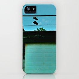 Just Hangin' Around iPhone Case