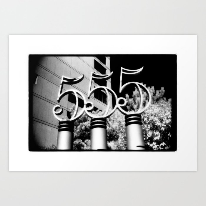 555 Art Print
