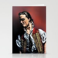 enjolras Stationery Cards featuring Enjolras by rapunzette