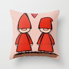 Christmas love Throw Pillow