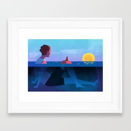 Parenthood Framed Art Print