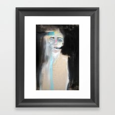 Grey Death Framed Art Print
