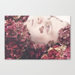 The Death of a Flower Canvas Print