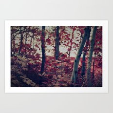 Bewitching Forest Art Print