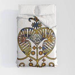 Oshun Goddess Veve Sigil Comforters