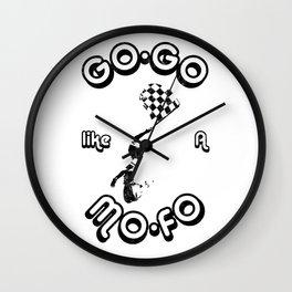 GoGo like a MoFo Racing Wall Clock