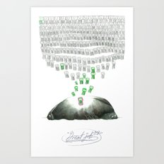Great Job Art Print
