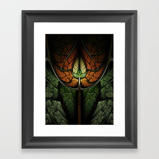 Elven Forest Framed Art Print
