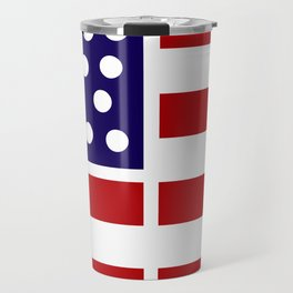 American design! USA flag #society6 #decor #buyart #artprint Travel Mug