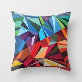 Colorful Mosaik Throw Pillow