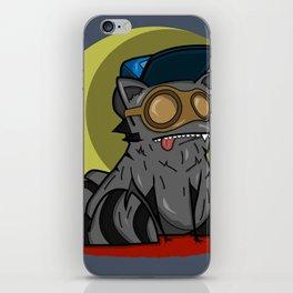 Cool Raccoon iPhone Skin