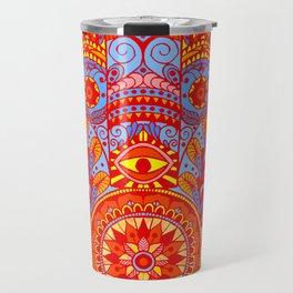 Hamsa Hand Travel Mug