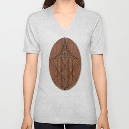 Rock Geometry Unisex V-Neck