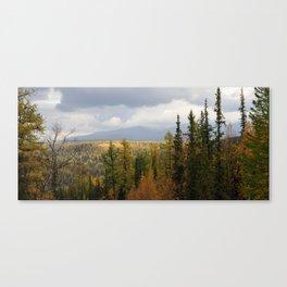 sub-polar ural mountains Canvas Print