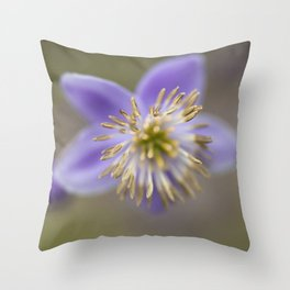 Purple One Throw Pillow