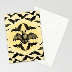 Bats Pattern Stationery Cards
