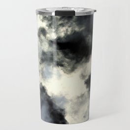Smoke abstract Travel Mug