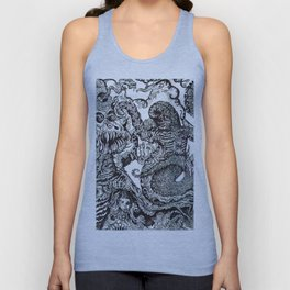 ' Planet Luv '  By: Matthew Crispell Unisex Tank Top