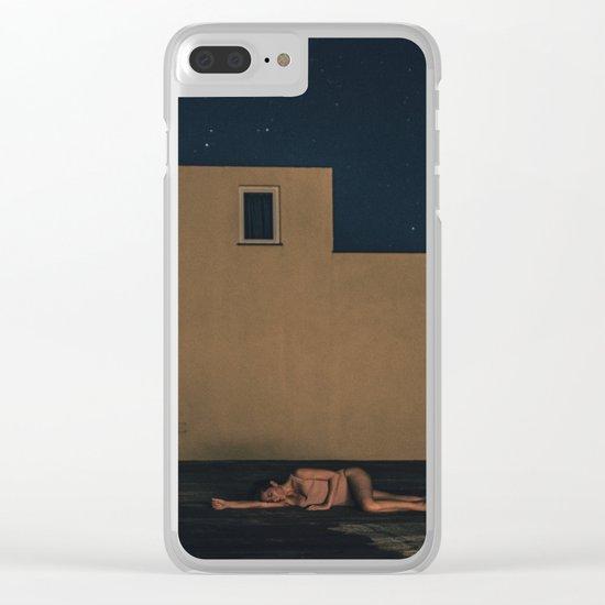 Esperaré a que vuelvas Clear iPhone Case