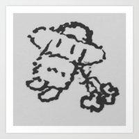 The Doodle Art Print