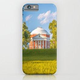 Virginia Charlottesville Lawn Print iPhone Case