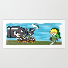 Link Boom Art Print