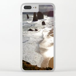 Twelve Apostle Australia Clear iPhone Case