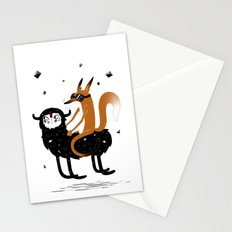 Space Fox Wanderer Stationery Cards