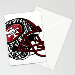 Tribal Style 49ers Stationery Cards