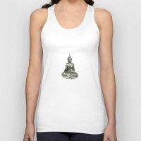 buddha Tank Tops featuring Buddha by Fine Art by Rina