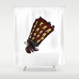 Hermit Crab Shower Curtain