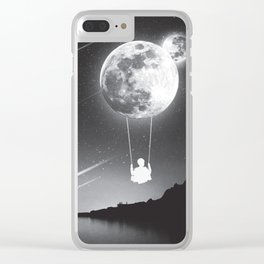 Lunar Swing Clear iPhone Case
