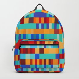 Bach Invention (Fire and Iceberg Colours) Backpack