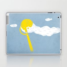 Early morning shave Laptop & iPad Skin