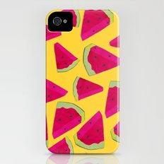 watermelon love iPhone (4, 4s) Slim Case