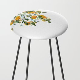 A Bit of Spring and Sushine Trailing Oranges Counter Stool