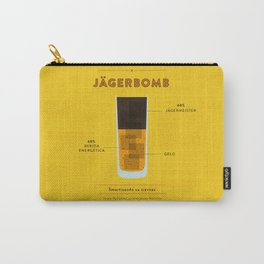 Jagerbomb - Cocktail by Juan Carry-All Pouch