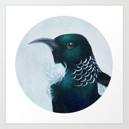 Tui In Circle Art Print