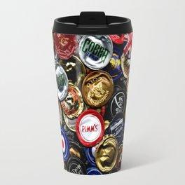 Beer Bottletops Travel Mug