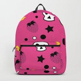 strawberry skulls! Backpack